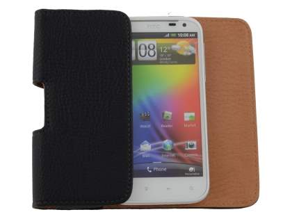 Textured Synthetic Leather Belt Pouch for HTC Sensation XL