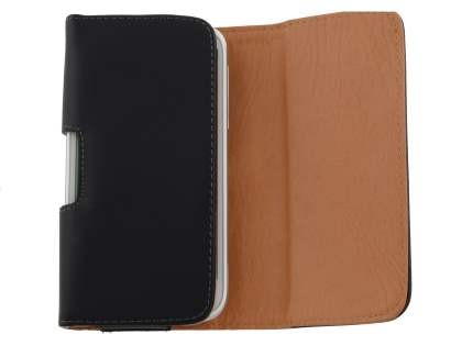 Smooth Synthetic Leather Belt Pouch for HTC Sensation XL