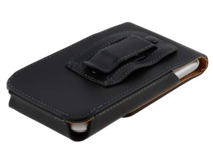 Smooth Synthetic Leather Vertical Belt Pouch for HTC Sensation XL