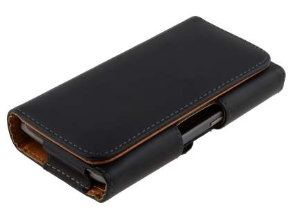 Smooth Synthetic Leather Belt Pouch for HTC Titan II 4G