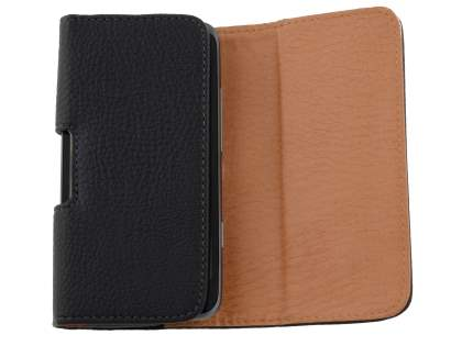 Textured Synthetic Leather Belt Pouch for HTC Titan II 4G