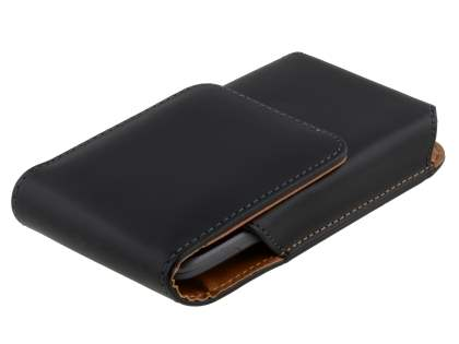 Smooth Synthetic Leather Vertical Belt Pouch for HTC Titan II 4G