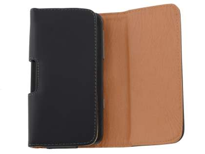 Smooth Synthetic Leather Belt Pouch for HTC Titan