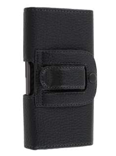 Textured Synthetic Leather Belt Pouch for Motorola RAZR