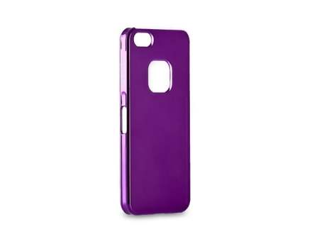 MOMAX Ultra-Thin Metallic Case for iPhone SE/5s/5 - Metallic Purple Hard Case