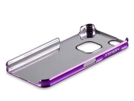 MOMAX Ultra-Thin Metallic Case for Apple iPhone SE/5s/5 - Metallic Purple