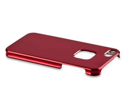 MOMAX Ultra-Thin Metallic Case for iPhone SE/5s/5 - Metallic Red