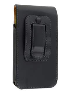 Smooth Synthetic Leather Vertical Belt Pouch (Bumper Case Compatible) for HTC One S