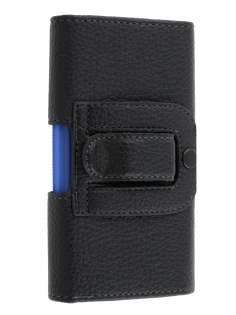Textured Synthetic Leather Belt Pouch (Bumper Case Compatible) for LG Prada 3.0