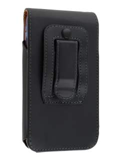 Smooth Synthetic Leather Vertical Belt Pouch (Bumper Case Compatible) for HTC Velocity 4G