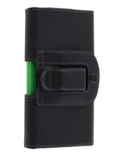 Smooth Synthetic Leather Belt Pouch (Bumper Case Compatible) for Sony Xperia S LT26i