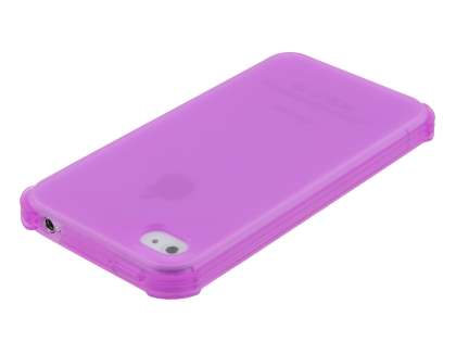 Frosted Colour TPU Gel Case for iPhone 4/4S - Pink