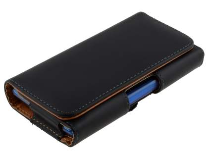 Smooth Synthetic Leather Belt Pouch (Bumper Case Compatible) for LG Optimus L7 P700
