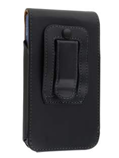 Smooth Synthetic Leather Vertical Belt Pouch (Bumper Case Compatible) for LG Optimus L7 P700