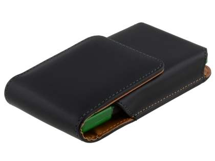 Smooth Synthetic Leather Vertical Belt Pouch (Bumper Case Compatible) for Sony Xperia S LT26i