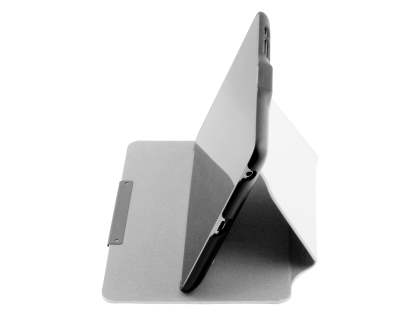 Slim Synthetic Leather Flip Cover with built-in Stand for Asus Google Nexus 7 2012 - White/Black