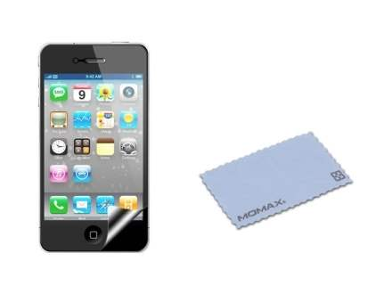 MOMAX Ultra-Thin Metallic Case for Apple iPhone 4S/4 - Silver