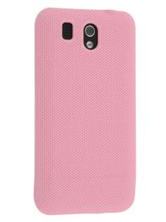 Micro Mesh Case for HTC Legend - Baby Pink Hard Case
