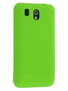 Micro Mesh Case for HTC Legend - Lime Green Hard Case