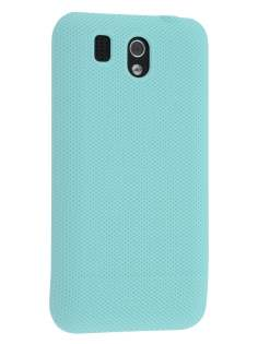 Micro Mesh Case for HTC Legend - Light Blue Hard Case