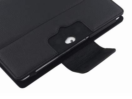 Synthetic Leather Bluetooth Keyboard Case for Samsung Galaxy Tab 2 10.1 - Black