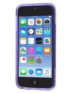 Wave Case for iPod Touch 5/6 - Frosted Purple/Purple