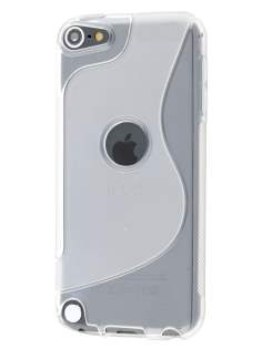 Wave Case for iPod Touch 5/6 - Frosted Clear/Clear Soft Cover