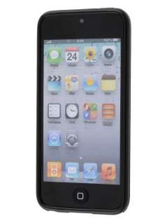 Frosted Colour TPU Gel Case for iPod Touch 5/6 - Black