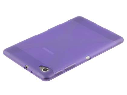 Samsung Galaxy Tab 7.7 P6800 X-Case - Frosted Purple/Purple