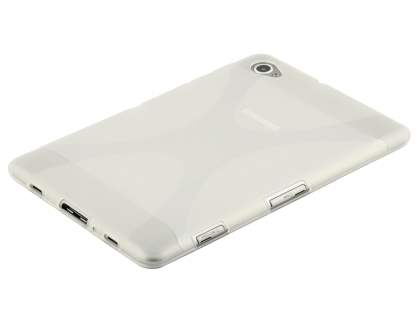 Samsung Galaxy Tab 7.7 P6800 X-Case - Frosted Clear/Clear