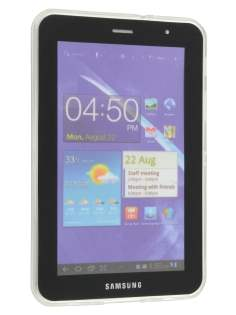 Samsung Galaxy Tab 7.0 Plus X-Case - Frosted Clear/Clear