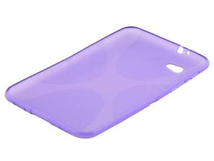 X-Case for Samsung Galaxy Tab 7.0 Plus - Frosted Purple/Purple