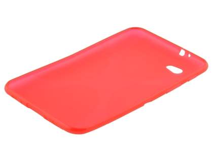 Samsung Galaxy Tab 7.0 Plus X-Case - Frosted Red/Red