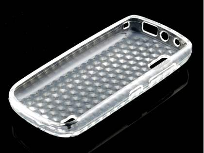 Nokia Asha 300 TPU Gel Case - Diamond Clear