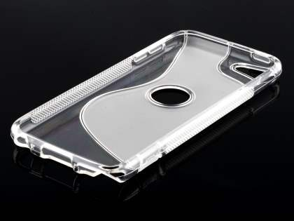 iPod Touch 5 Wave Case - Frosted Clear/Clear