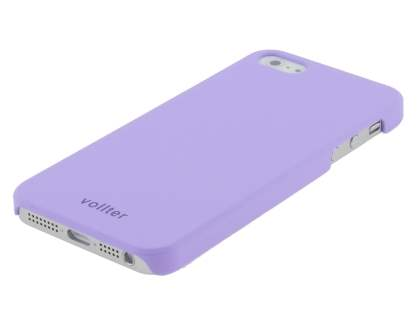 Vollter Ultra Slim Rubberised Case for iPhone SE/5s/5 - Light Purple