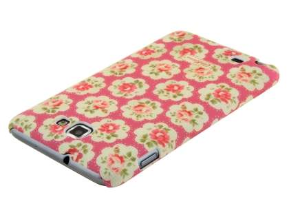 Vintage Inspired Lacquered Shell Case for the Samsung Galaxy Note I9220