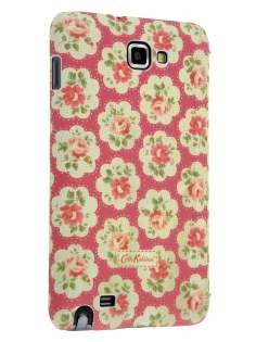 Vintage Inspired Lacquered Dual-Texture Flip Case for Samsung I9220 Galaxy Note