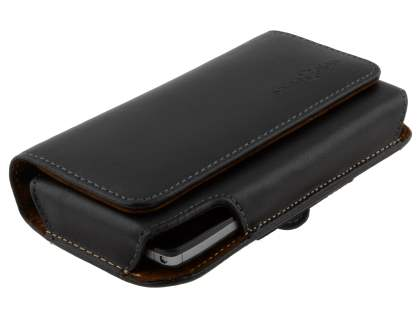 Extra-tough Genuine Leather ShineColours belt pouch for Motorola RAZR HD 4G XT925
