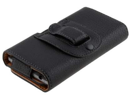 Textured Synthetic Leather Belt Pouch for Motorola RAZR HD 4G XT925