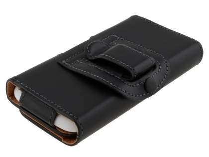 Smooth Synthetic Leather Belt Pouch for HTC Desire X