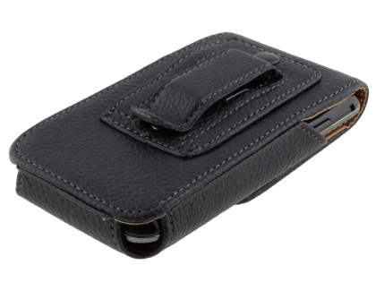 Textured Synthetic Leather Vertical Belt Pouch for Samsung I9000 Galaxy S