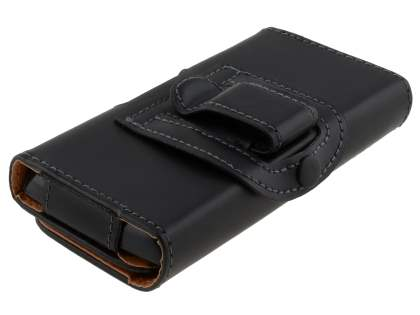 Smooth Synthetic Leather Belt Pouch for Samsung Omnia W I8350