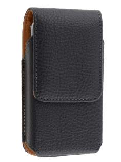 Textured Synthetic Leather Vertical Belt Pouch for Samsung S5830 Galaxy Ace