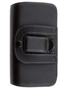 Extra-tough Genuine Leather ShineColours belt pouch for HTC 7 Mozart