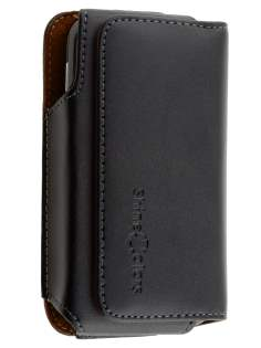 Extra-tough Genuine Leather ShineColours belt pouch for HTC 7 Trophy