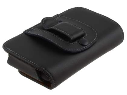 Extra-tough Genuine Leather ShineColours belt pouch for HTC ChaCha