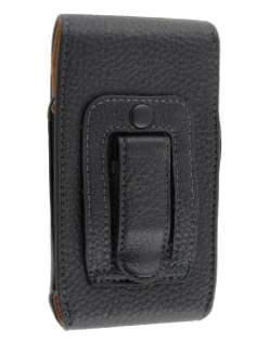Textured Synthetic Leather Vertical Belt Pouch for HTC Desire A8183