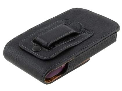 Textured Synthetic Leather Vertical Belt Pouch for HTC Rhyme