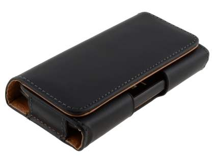 Smooth Synthetic Leather Belt Pouch for HTC Desire S